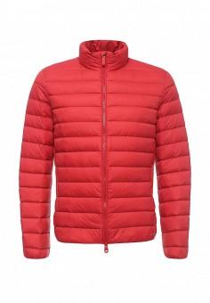 Пуховик, Geox, цвет: красный. Артикул: GE347EMPCY63. Мужская одежда / Верхняя одежда / Пуховики и зимние куртки
