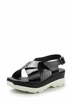 Босоножки, Gene, цвет: черный. Артикул: GE632AWRKR26. Женская обувь / Босоножки