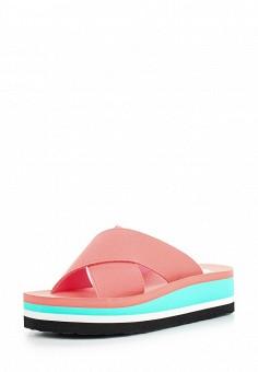 Шлепанцы, Gioseppo, цвет: розовый. Артикул: GI022AWFN976. Женская обувь / Шлепанцы и акваобувь