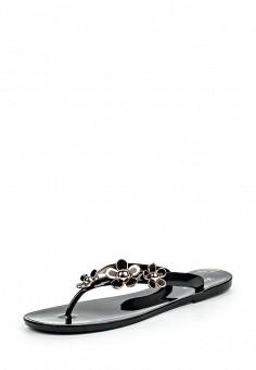 Сланцы, GLAMforever, цвет: черный. Артикул: GL854AWHWQ96. Женская обувь / Шлепанцы и акваобувь
