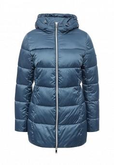 Куртка утепленная, Grishko, цвет: синий. Артикул: GR371EWLKL14. Женская одежда / Верхняя одежда / Пуховики и зимние куртки