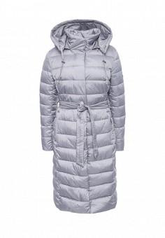 Куртка утепленная, Grishko, цвет: серый. Артикул: GR371EWLKN46. Женская одежда / Верхняя одежда / Пуховики и зимние куртки