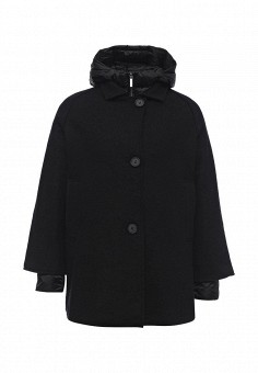 Пуховик, Hetrego, цвет: черный. Артикул: HE832EWMCV30. Премиум / Одежда / Верхняя одежда / Пальто