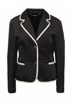 Куртка утепленная, Husky, цвет: черный. Артикул: HU011EWQRR35. Женская одежда / Верхняя одежда / Демисезонные куртки