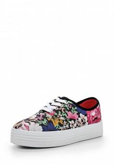 Кеды, Ideal, цвет: мультиколор. Артикул: ID005AWICH97. Женская обувь / Кроссовки и кеды