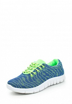 Кроссовки, Ideal, цвет: синий. Артикул: ID005AWPSL63. Женская обувь / Кроссовки и кеды / Кроссовки