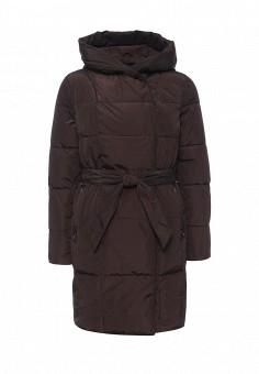Пуховик, Incity, цвет: коричневый. Артикул: IN002EWNKN31. Женская одежда / Верхняя одежда / Пуховики и зимние куртки