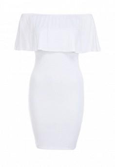 Платье, Influence, цвет: белый. Артикул: IN009EWFIB93. Женская одежда / Платья и сарафаны / Летние платья