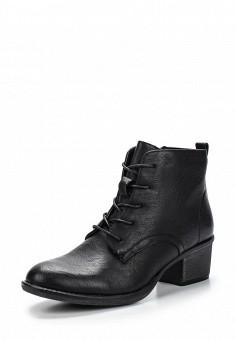 Ботинки, Instreet, цвет: черный. Артикул: IN011AWENJ57. Женская обувь / Ботинки
