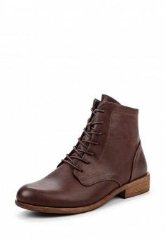 Ботинки, Instreet, цвет: коричневый. Артикул: IN011AWPMA35. Женская обувь / Ботинки