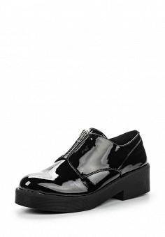 Ботинки, Instreet, цвет: черный. Артикул: IN011AWPRC47. Женская обувь / Ботинки