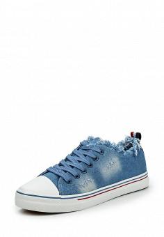 Кеды, Janessa, цвет: голубой. Артикул: JA026AWQPZ61. Janessa