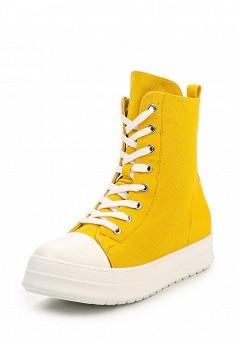 Кеды, Janessa, цвет: желтый. Артикул: JA026AWQPZ72. Janessa