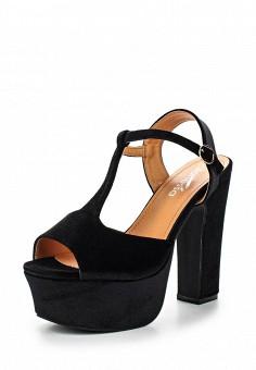 Босоножки, Janessa, цвет: черный. Артикул: JA026AWSZE39. Janessa