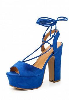 Босоножки, Janessa, цвет: синий. Артикул: JA026AWTUA98. Janessa