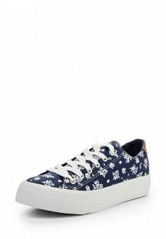 Кеды, Jennyfer, цвет: синий. Артикул: JE008AWQLG32. Женская обувь / Кроссовки и кеды