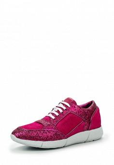 Кроссовки, Just Cavalli, цвет: фуксия. Артикул: JU662AWJDD33. Женщинам / Обувь / Кроссовки и кеды
