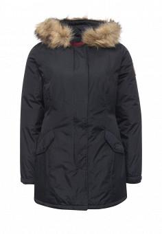 Куртка утепленная, Kamora, цвет: синий. Артикул: KA032EWNBD27. Женская одежда / Верхняя одежда / Пуховики и зимние куртки