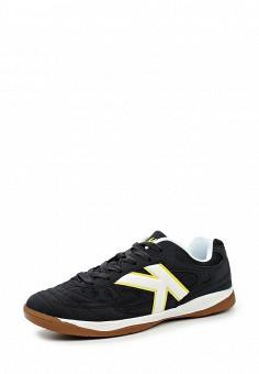 Бутсы зальные, Kelme, цвет: черный. Артикул: KE010AUHVP58. Женская обувь / Кроссовки и кеды / Кроссовки