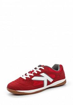 Бутсы зальные, Kelme, цвет: красный. Артикул: KE010AUHVP59. Женская обувь / Кроссовки и кеды / Кроссовки