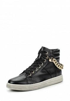 Кеды, Keddo, цвет: черный. Артикул: KE037AWKDX10. Женская обувь / Кроссовки и кеды