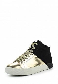 Кеды, Keddo, цвет: золотой. Артикул: KE037AWKDY41. Женская обувь / Кроссовки и кеды