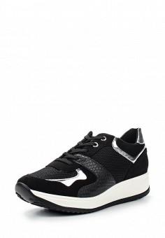 Кроссовки, Keddo, цвет: черный. Артикул: KE037AWQCD54. Женская обувь / Кроссовки и кеды