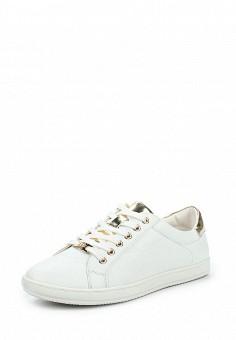 Кеды, Keddo, цвет: белый. Артикул: KE037AWQCF08. Женская обувь / Кроссовки и кеды