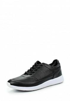 Кроссовки, Lacoste, цвет: черный. Артикул: LA038AWKYX93. Женская обувь / Кроссовки и кеды