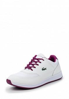 Кроссовки, Lacoste, цвет: белый. Артикул: LA038AWPZN81. Женская обувь / Кроссовки и кеды