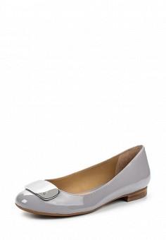 Балетки, Lauren Ralph Lauren, цвет: серый. Артикул: LA079AWPEF66. Премиум / Обувь / Балетки