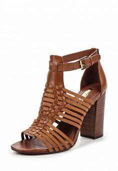 Босоножки, Lauren Ralph Lauren, цвет: коричневый. Артикул: LA079AWPEF73. Премиум / Обувь / Босоножки