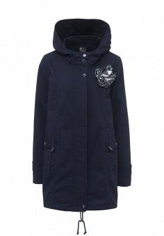 Парка, Liu Jo Jeans, цвет: синий. Артикул: LI003EWOQF17. Женская одежда / Верхняя одежда / Парки