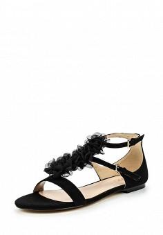 Сандалии, Liu Jo, цвет: черный. Артикул: LI687AWOQB88. Премиум / Обувь