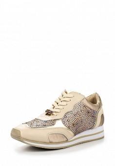 Кроссовки, Liu Jo, цвет: бежевый. Артикул: LI687AWOQE49. Премиум / Обувь