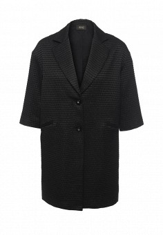 Пальто, Liu Jo, цвет: черный. Артикул: LI687EWOTC81. Премиум / Одежда / Верхняя одежда / Пальто