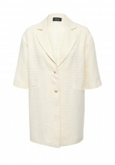Пальто, Liu Jo, цвет: бежевый. Артикул: LI687EWOTC82. Премиум / Одежда / Верхняя одежда / Пальто