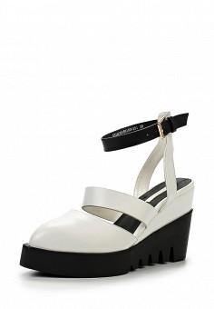 Босоножки, LOST INK, цвет: белый. Артикул: LO019AWGBF21. Женская обувь / Босоножки