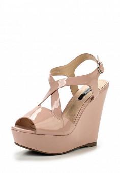 Босоножки, LOST INK, цвет: розовый. Артикул: LO019AWGVM61. Женская обувь / Босоножки