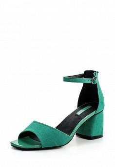 Босоножки, LOST INK, цвет: зеленый. Артикул: LO019AWOPS32. Женская обувь / Босоножки