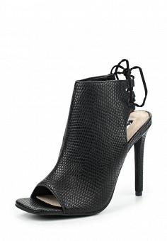 Босоножки, LOST INK, цвет: черный. Артикул: LO019AWOSG27. Женская обувь / Босоножки