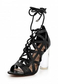 Босоножки, LOST INK, цвет: черный. Артикул: LO019AWOVU43. Женская обувь / Босоножки