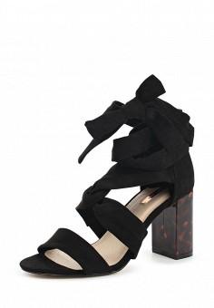Босоножки, LOST INK, цвет: черный. Артикул: LO019AWOXZ31. Женская обувь / Босоножки
