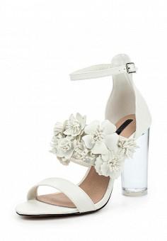 Босоножки, LOST INK, цвет: белый. Артикул: LO019AWPTE26. Женская обувь / Босоножки