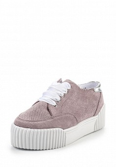 Кеды, LOST INK, цвет: розовый. Артикул: LO019AWRCX31. Женская обувь / Кроссовки и кеды