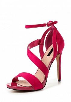 Босоножки, LOST INK, цвет: фуксия. Артикул: LO019AWRCX33. Женская обувь / Босоножки