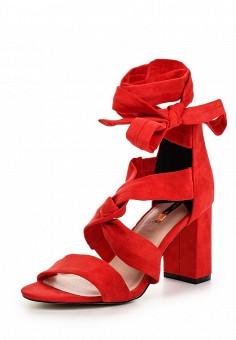 Босоножки, LOST INK, цвет: красный. Артикул: LO019AWTFW62. Женская обувь / Босоножки