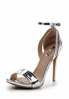 Босоножки, LOST INK, цвет: серебряный. Артикул: LO019AWVAF56. Женская обувь / Босоножки