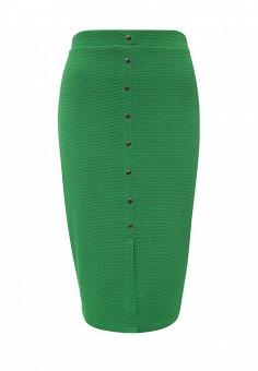 Юбка, LOST INK, цвет: зеленый. Артикул: LO019EWMWW33. Женская одежда
