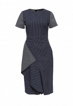 Платье джинсовое, LOST INK, цвет: синий. Артикул: LO019EWOLN40. Женская одежда / Платья и сарафаны / Джинсовые платья